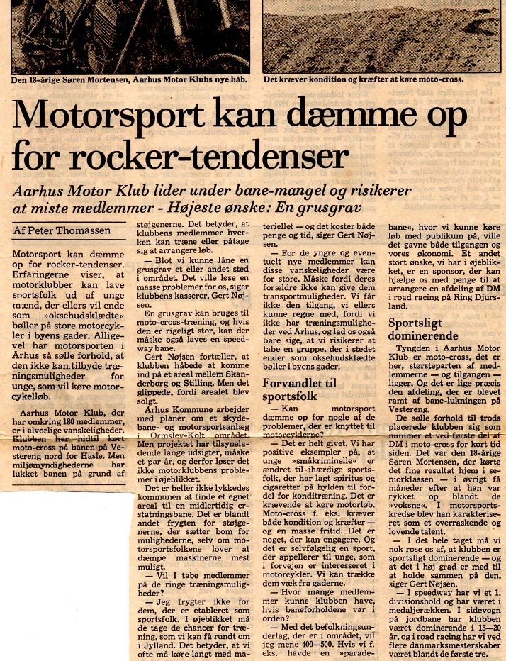 Avisklip 21. april 78 Baneproblemer img2