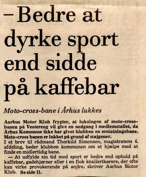 Avisklip 24 dec. 77 Lukning Vester Eng img3
