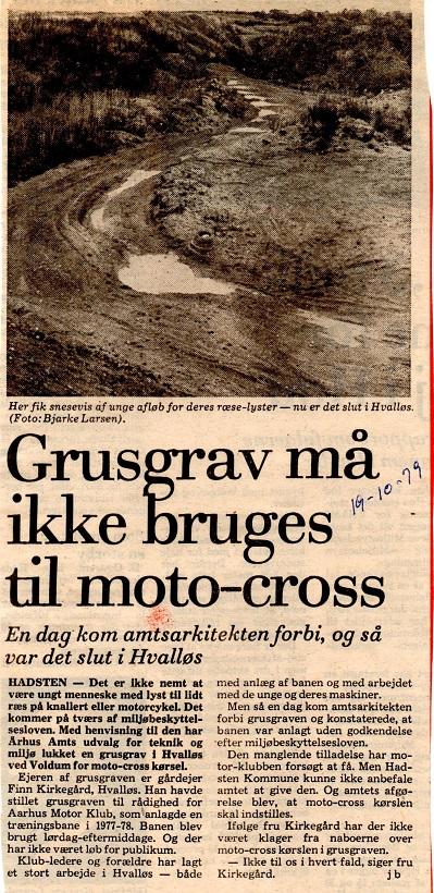 Avisklip Hvalløs 19-10-79