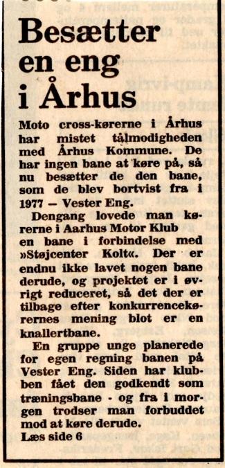 Avisklip Vester Eng besat 8-4-82  img1