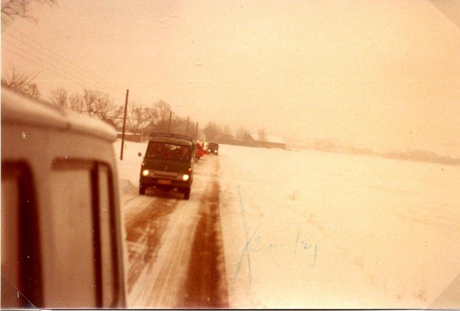 Vinterturn. Clausholm 78 img1. Da var det rigtig vinter.