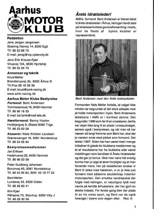 2001-04 Klub Bent A. årets idrætsleder