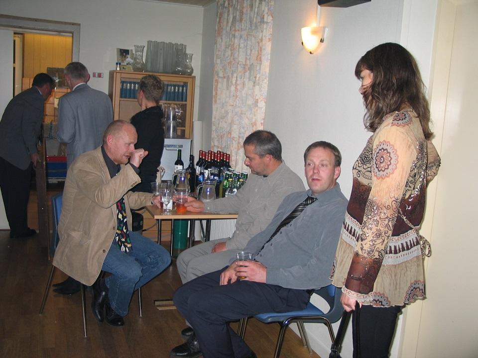 Nyrup, Lars Sørensen, Benny og Merete.