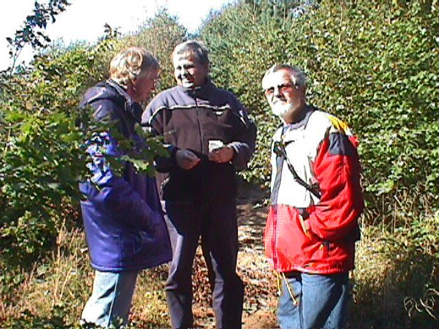 DM trial Vejle 2000. Lars Pedersen, Knud Møller og Niels