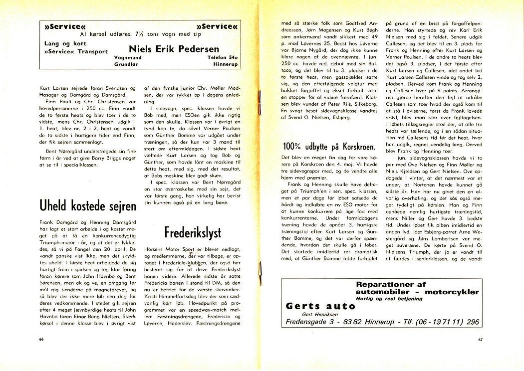 1969-06 Klubblad Annonce Service vognmand