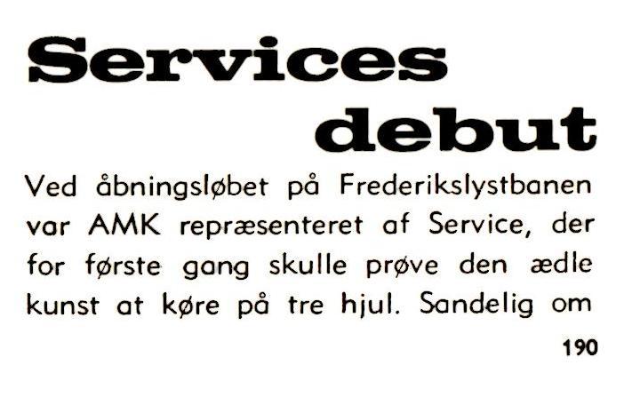 1970-06 Klubblad Debutsejr Service 1