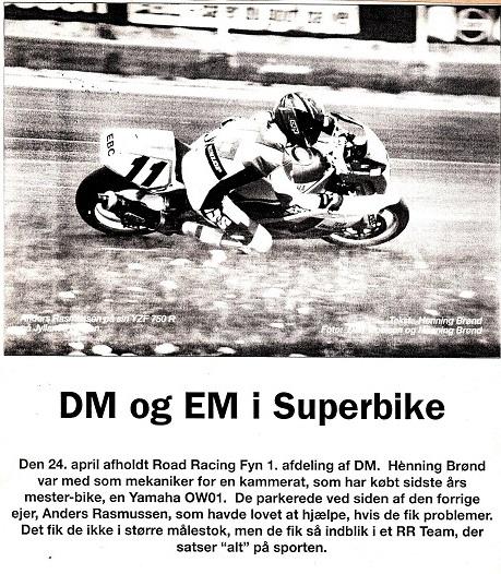 Henning Brønds referat til Touring Nyt img1