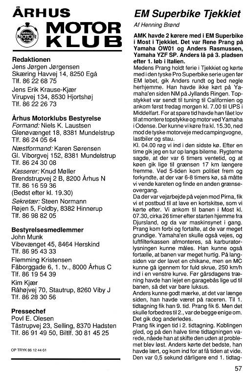 Den lånte artikel fra Touring Nyt. 1994-08 Klubblad img1