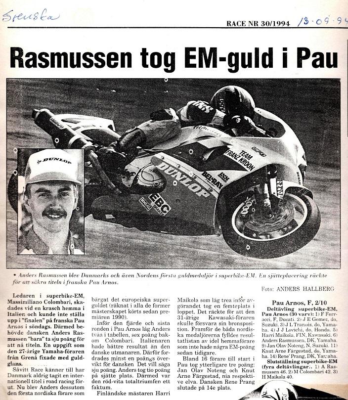 1994-10-06 Race