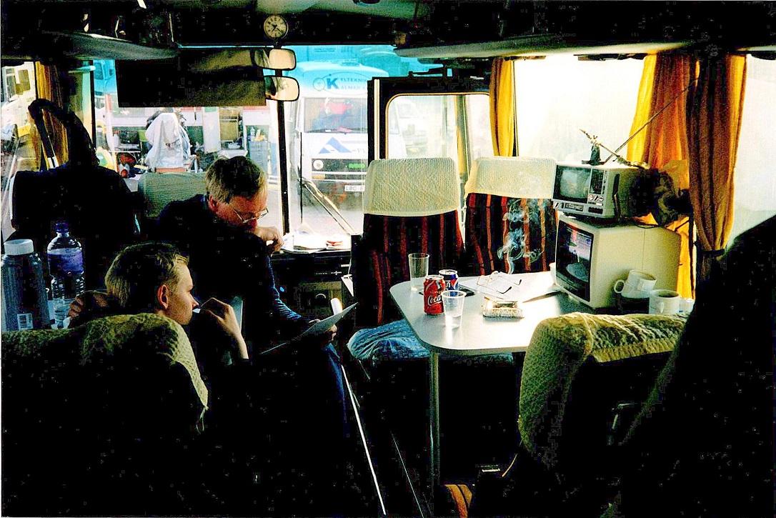Hygge i bussen