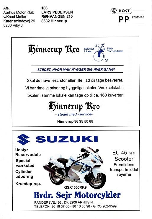 2010-05 img1 Sidste klubblad. Annoncen uændret fra 1987.