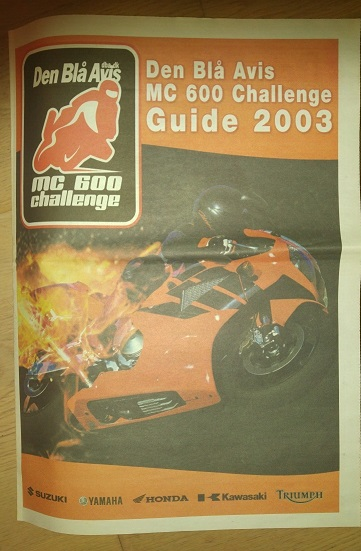 Den Blå Avis lavede en guide til løbsserien, som de sponserede.