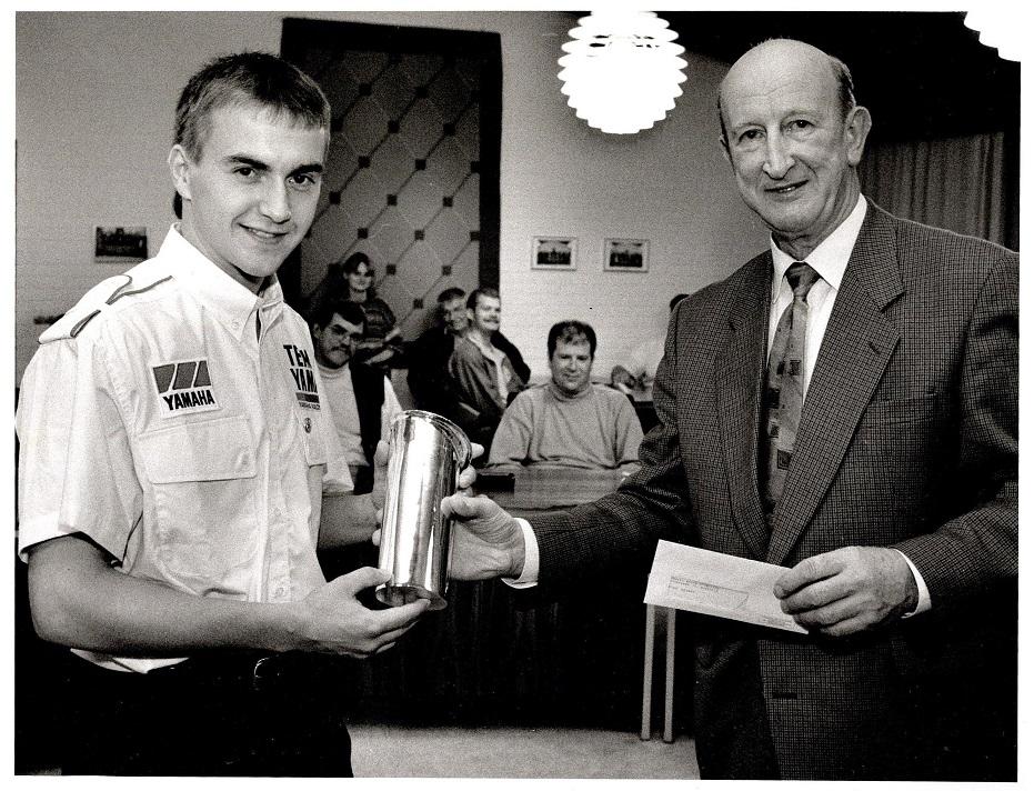 Anders modtog sidst på året 1995 en nyindstiftet pris for sit EM 1994. Prisen hed Nørre Djurs Kommunes Idrætspris.