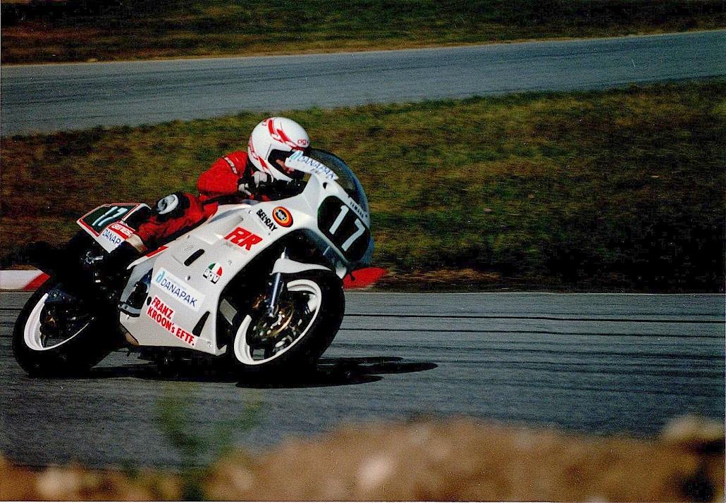 Anders i Supersport 750.
