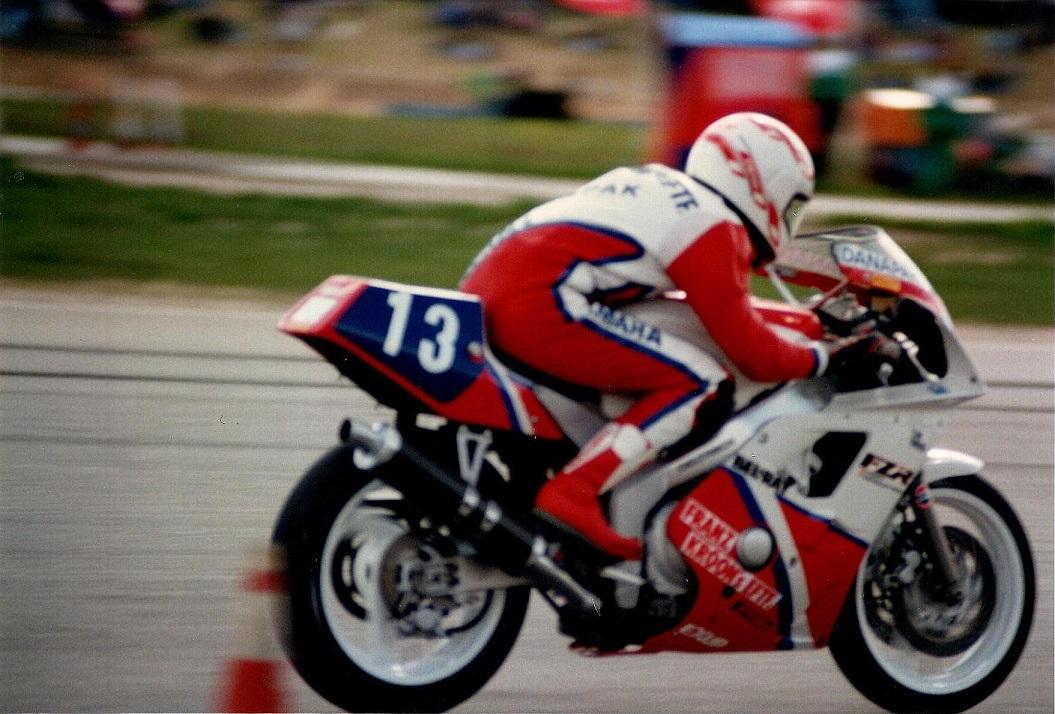 Anders og FZR400.