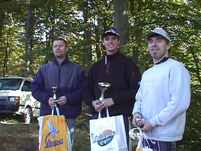 Thomas Pedersen vandt Elite-klassen foran Johnny Rasmussen th og Jesper Antonsen tv