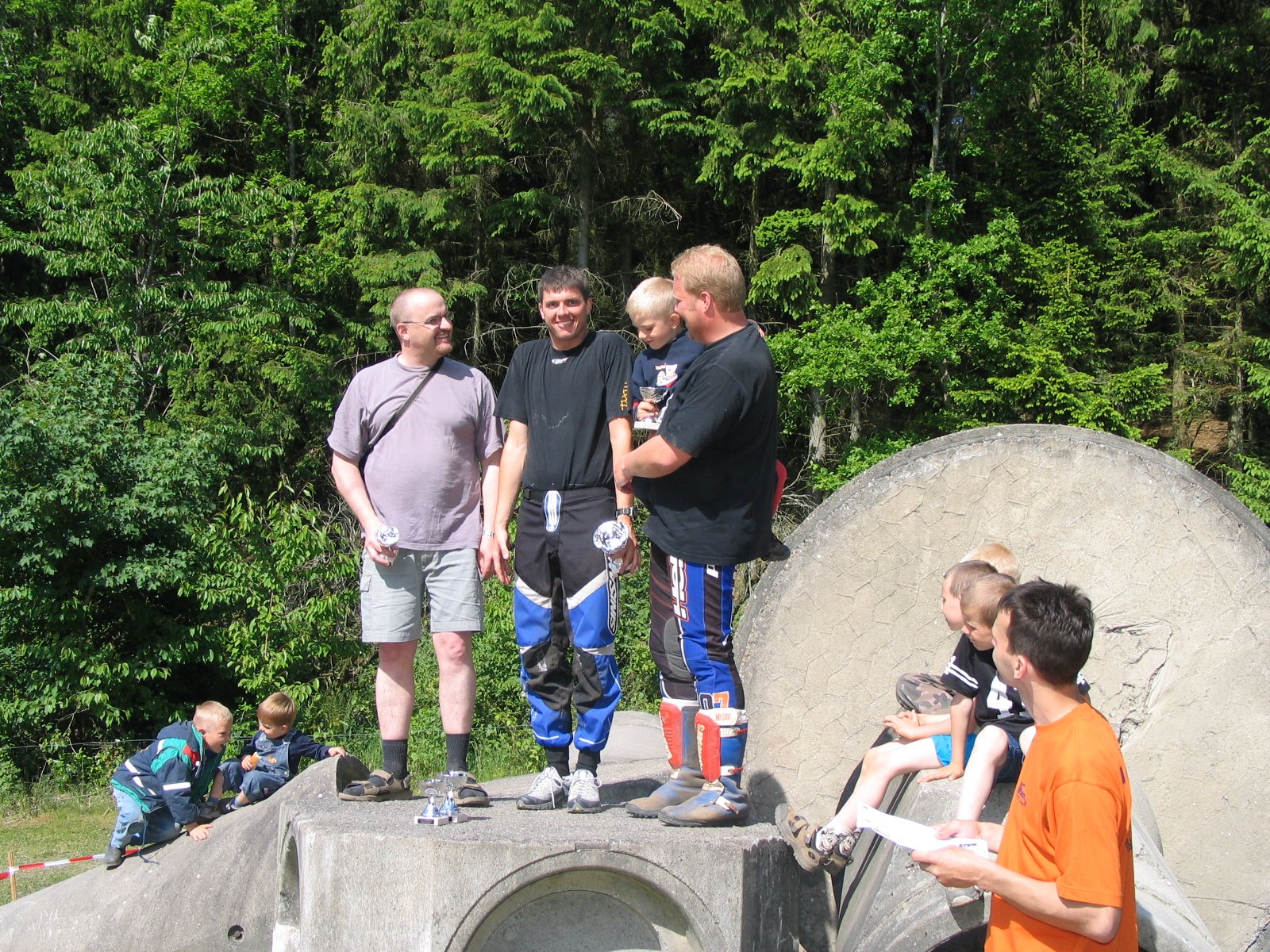 Thomas Pedersen vandt foran Marc Schütt og Hans J, Beck i Elite
