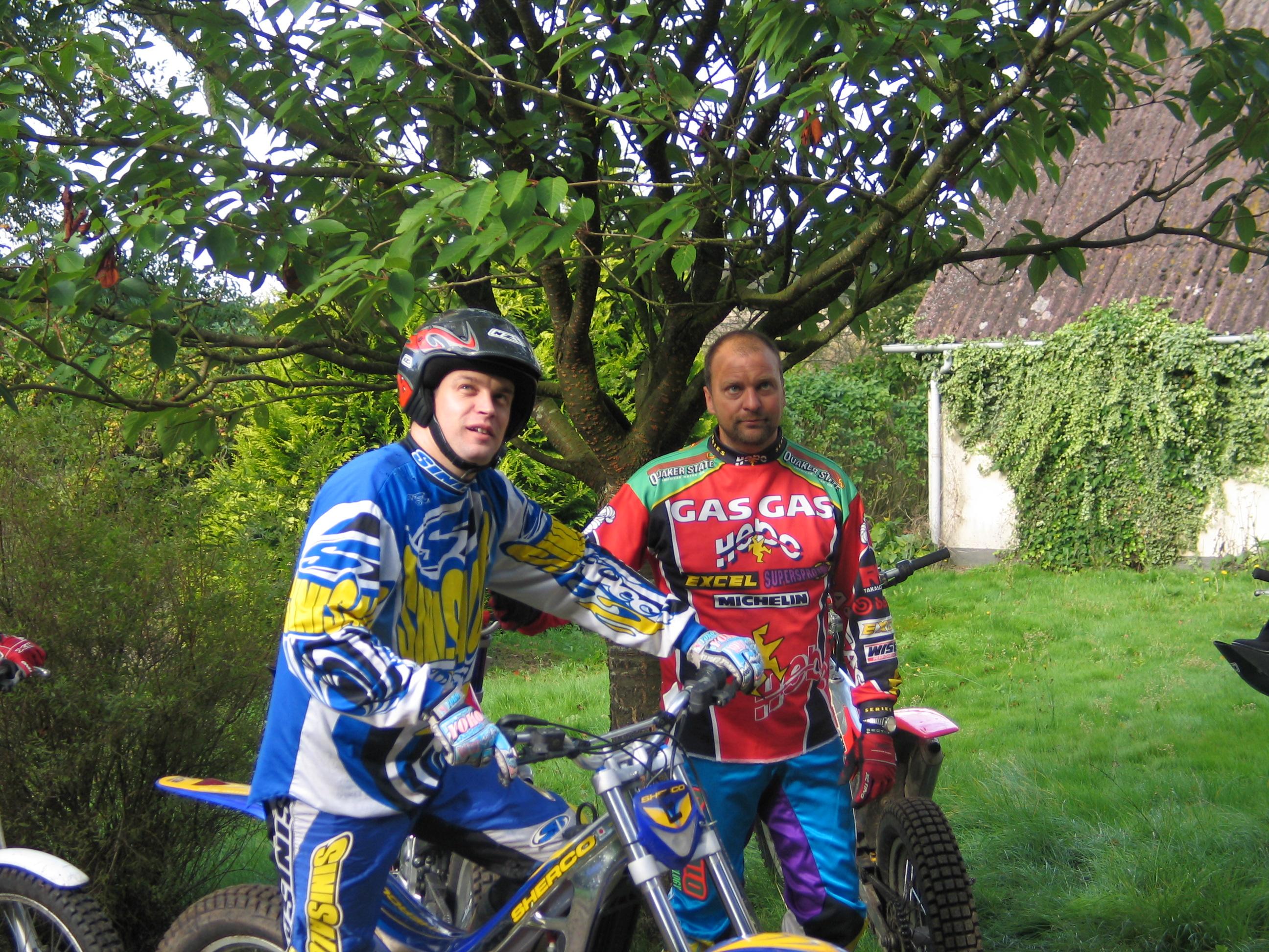 Kenneth tv og Carsten Jensen