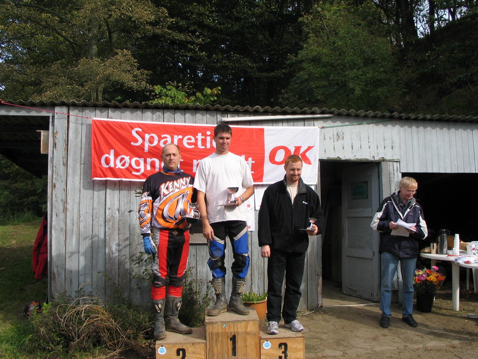 Thomas P. vandt Elite foran Kjeld Jensen og Jesper Antonsen