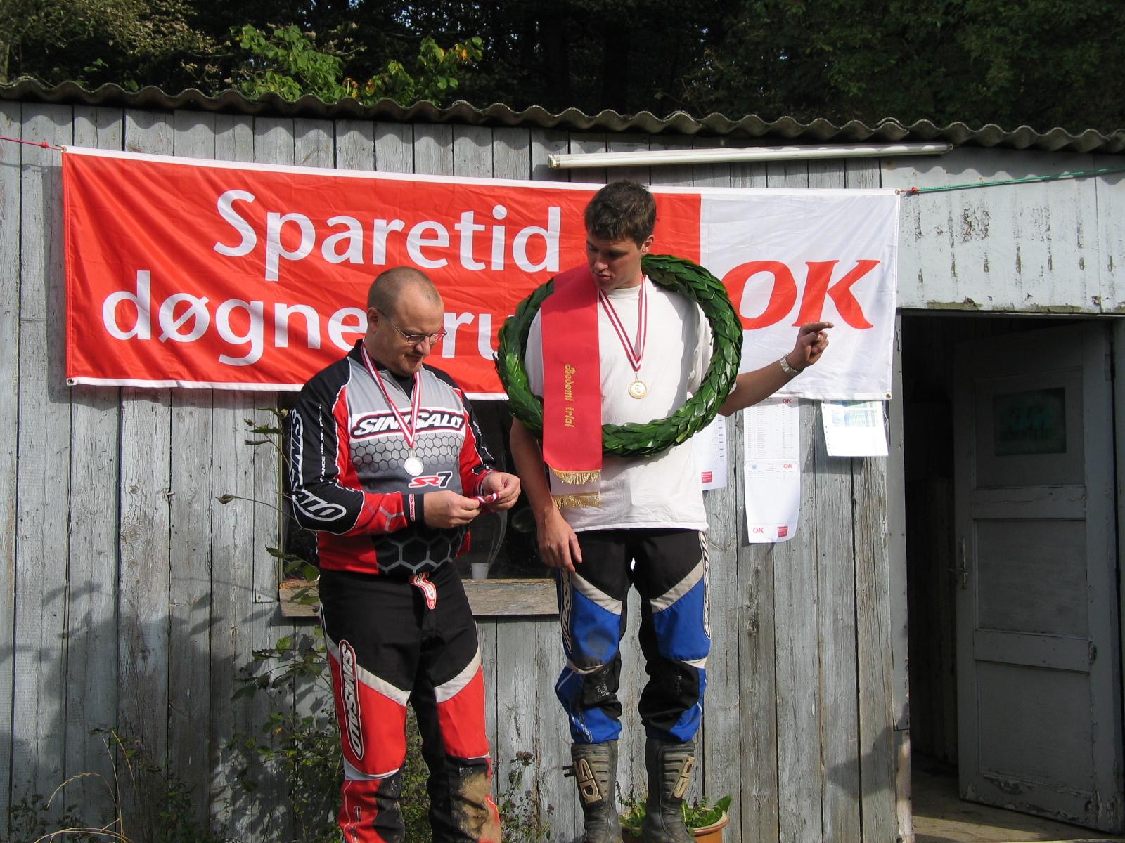 Thomas Pedersen vandt DM guld foran Hans J. Beck