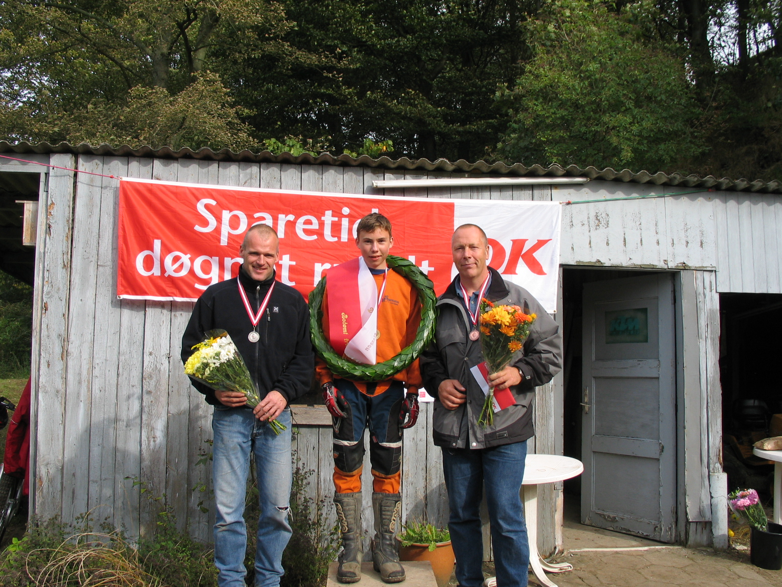 I DM for B-klassen sejrede Gregers foran John Mørch og Finn Lund