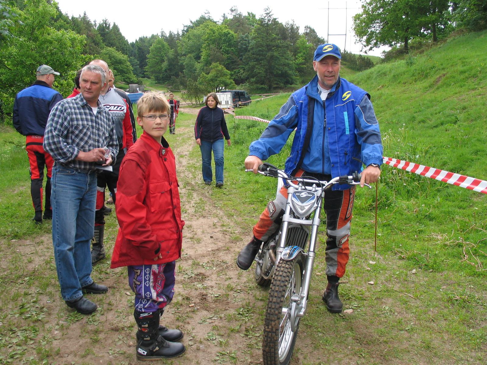 Morten Andersen og Finn Lund