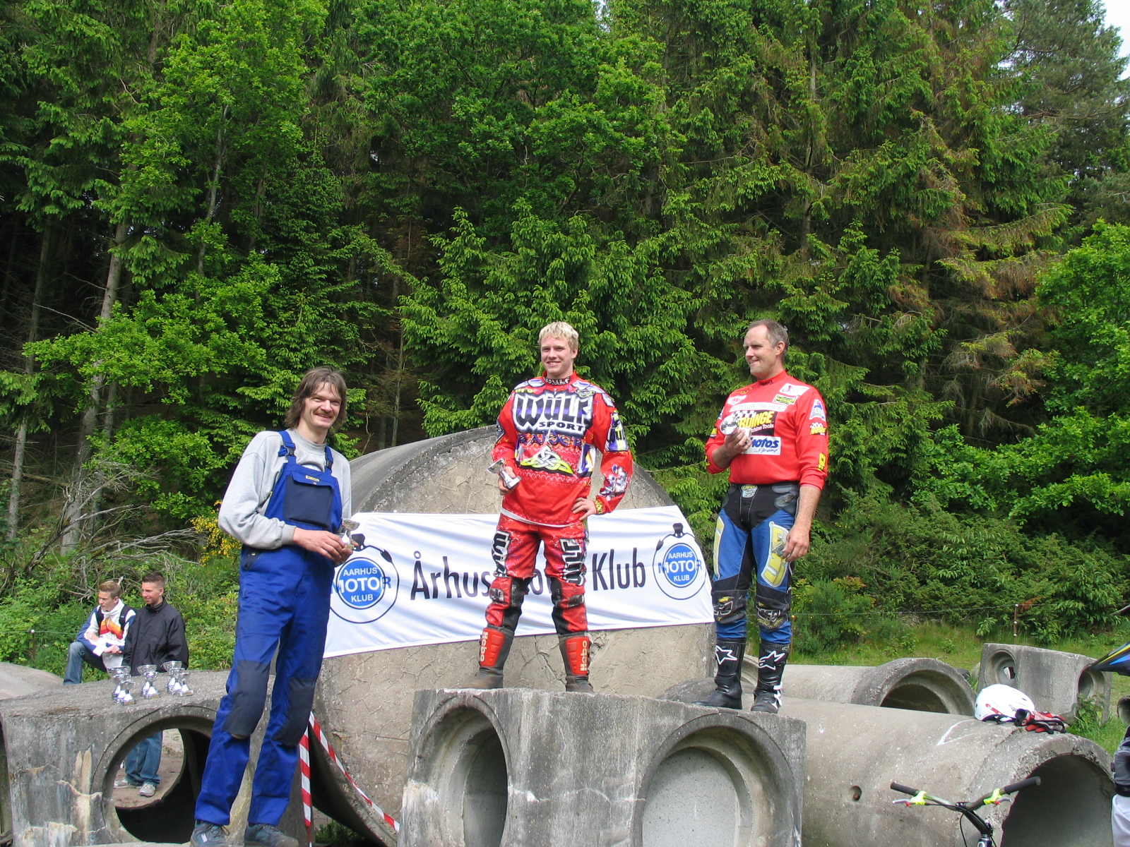 Kasper Thulstrup vandt foran Torben Pedersen. Jens Peder tv