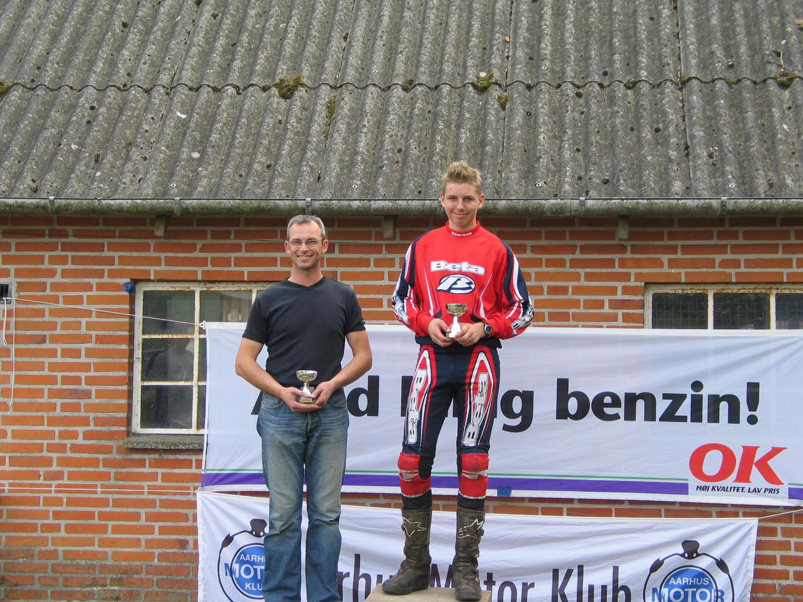 Daniel Mørch vandt B foran Henrik Arvad.