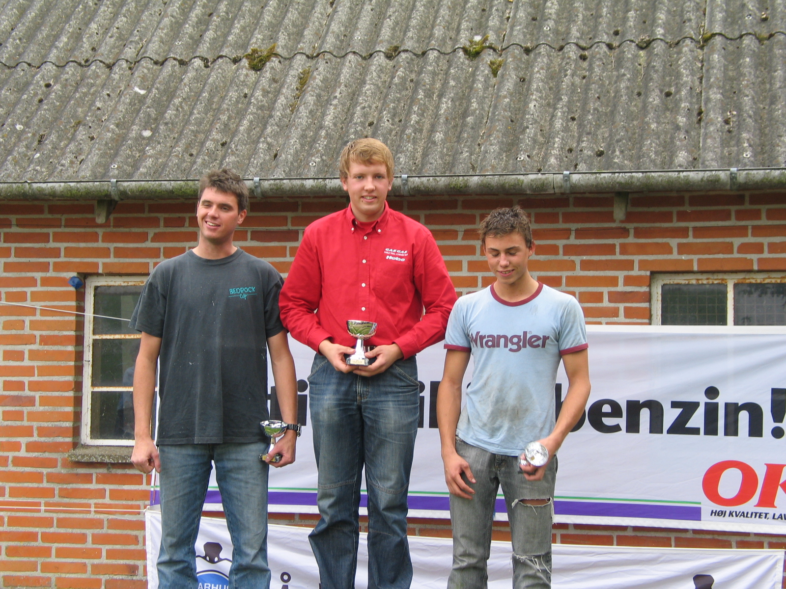 Niels Nicolaisen vandt Elite foran Thomas Pedersen og Gregers.