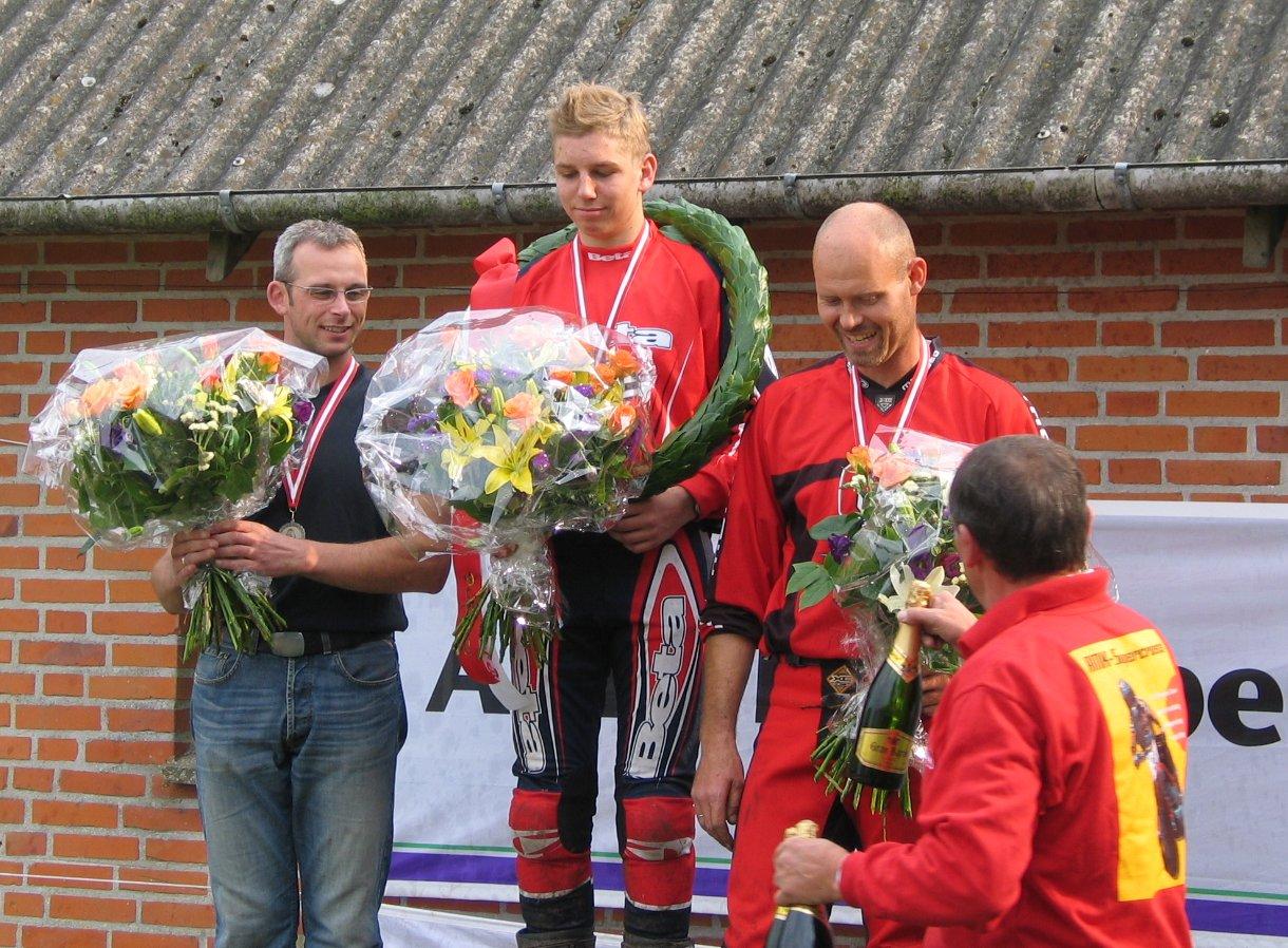 Daniel Mørch vandt DM i B-klassen foran Henrik Arvad og Jens Kristiansen.