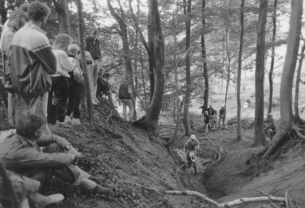 1991 Vejle. Stig Winckler i en af de klassiske Vejle-sektioner.