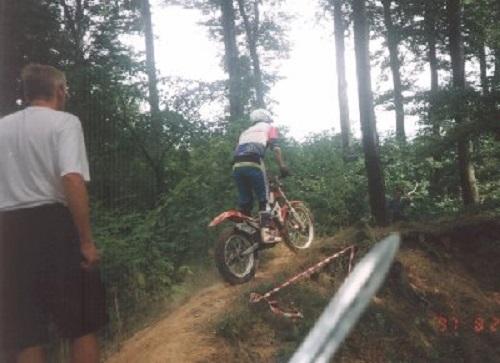1997 Vejle. Krause bedømmer.