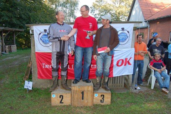 A-klassen. Hans J. Beck 1, Kjeld Jensen 2, Henrik Arvad 3