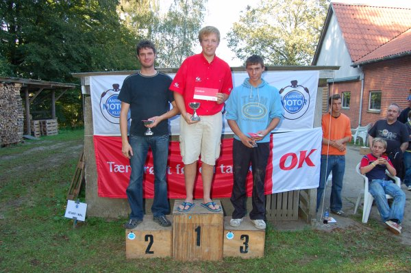 Elite. Niels Nicolaisen 1, Thomas Pedersen 2, Gregers Pedersen 3