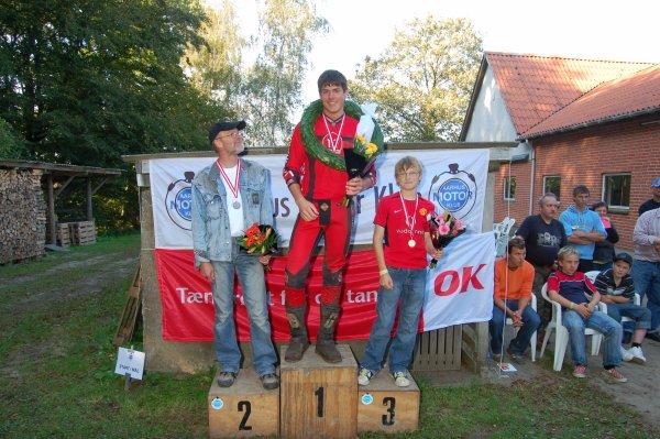 DM i B-klassen. Mark foran kjeld Gerken og Morten A.