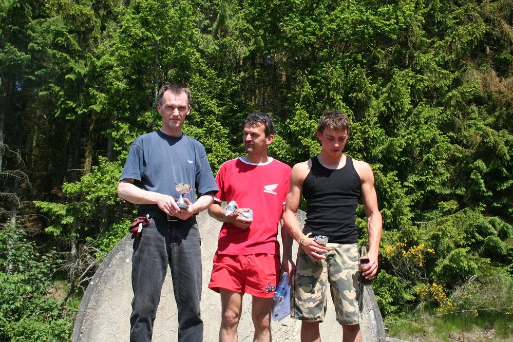 Der blev også uddelt præmier for klubmesterskabet  2005. Vinder Ole Kristensen foran Gregers og Kim Andersen