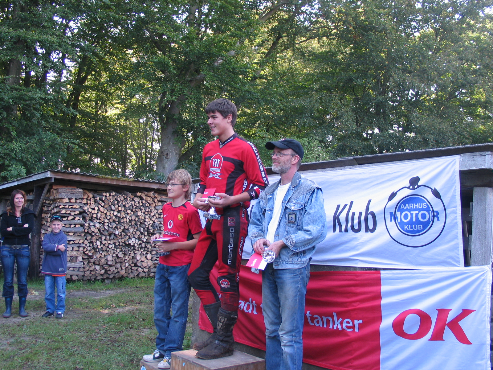 Mark Nielsen vandt B foran Morten Andersen og Kjeld Gerken