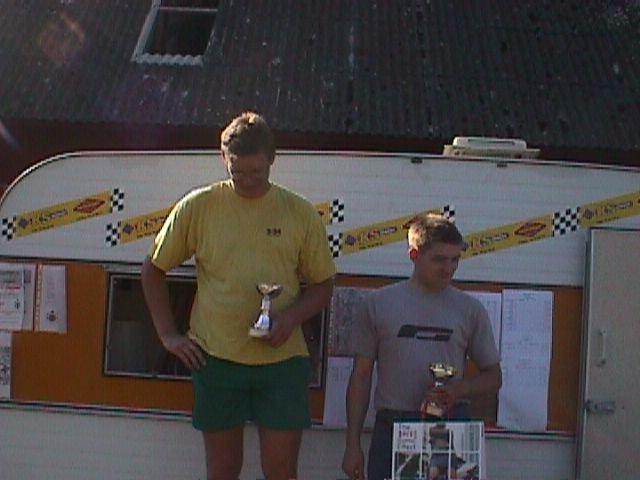 Ole Rasmussen og Brian Rasmussen blev 1 og 2 i klasse B.