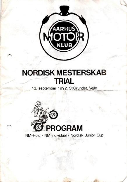 NM Trial St. Grundet 1992 Program img1