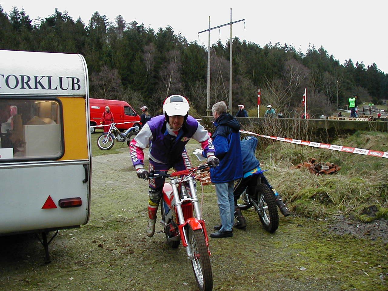 Lars Pedersen sender kørerne ud til strabadserne