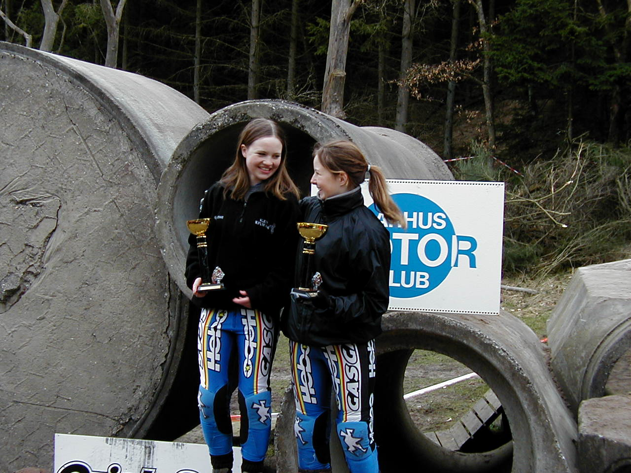 De norske piger var stærkest repræsenteret i de to pigeklasser 1.