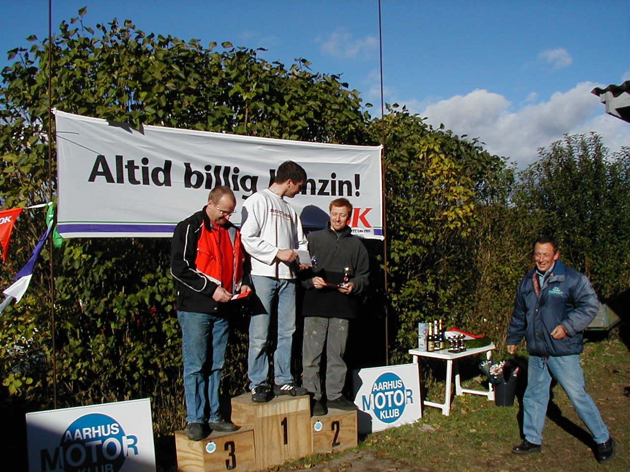 Thomas Pedersen vandt Elite foran Jesper Antonsen og Hans J. Beck